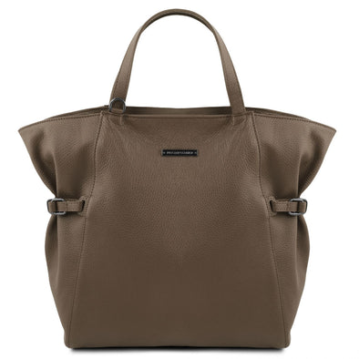 Tl Bag - Soft Leather Shopping Bag
