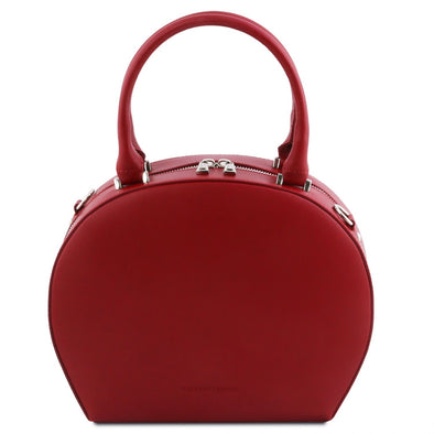 Ninfa - Leather Round Duffel Bag
