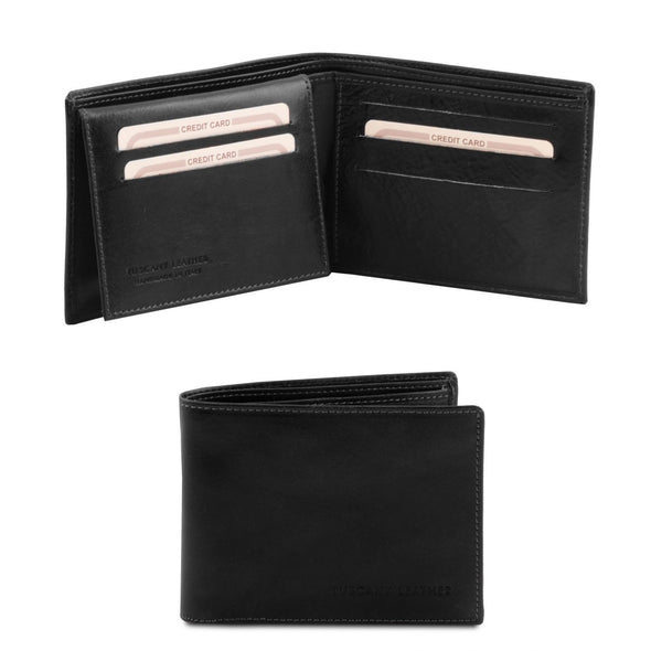 Exclusive Leather 3 Fold Wallet