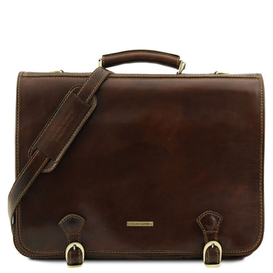 Ancona - Leather Messenger Bag