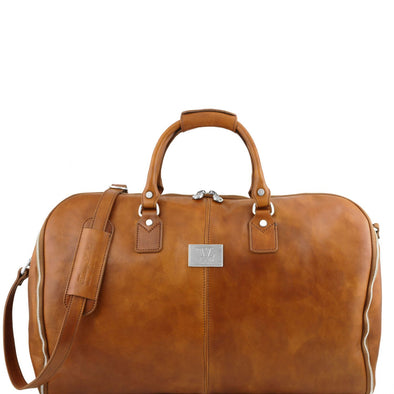 Antigua - Travel Leather Duffel/Garment Bag