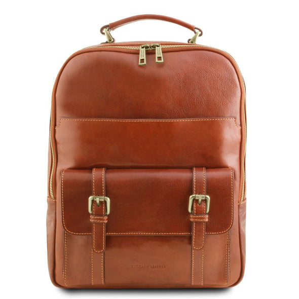 Nagoya - Leather Laptop Backpack