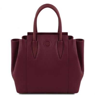 Tulipan - Leather Handbag