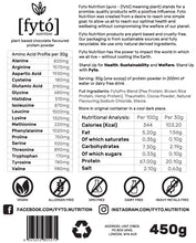 Load image into Gallery viewer, Fyto Nutrition Vegan Protein Powder - Fyto Nutrition - Vegan Protein Supplements