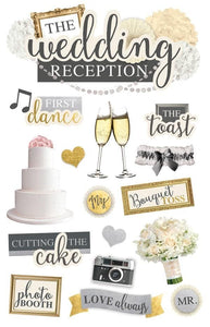 Wedding Reception 3D Sticker