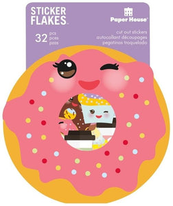 Kawaii Flake Stickers
