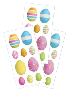 "Easter Eggs 2"" Stickers"