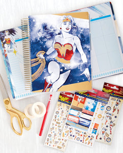 Wonder Woman™ Planner and Accessory Bundle