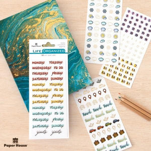 Creative Journaling Basics Sticker Bundle