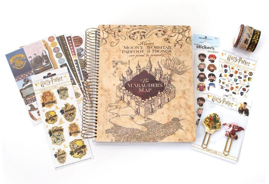 Harry Potter™ Marauder's Map Planner and Accessory Bundle