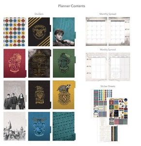 Harry Potter™ Hogwarts Crest Planner and Accessory Bundle
