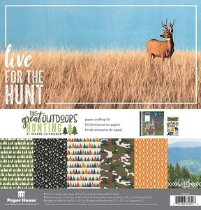 The Great Outdoors: Hunting Paper Crafting Kit