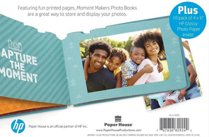HP Moment Makers Camera Diecut Photo Album