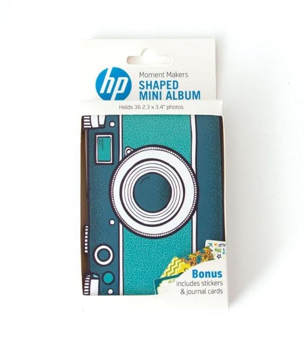 HP Moment Makers Camera Diecut Mini Album