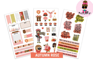 Mommy Lhey- Autumn Rose Sticker Kit