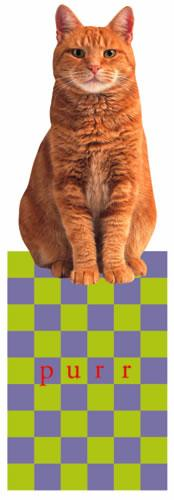 Red Tabby Cat Bookmark