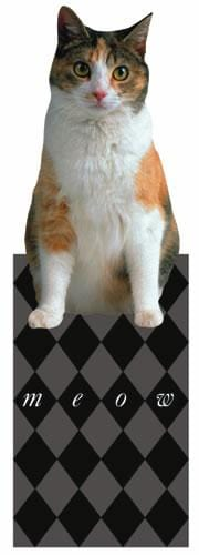 calico cat bookmark