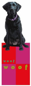 Black Labrador Bookmark