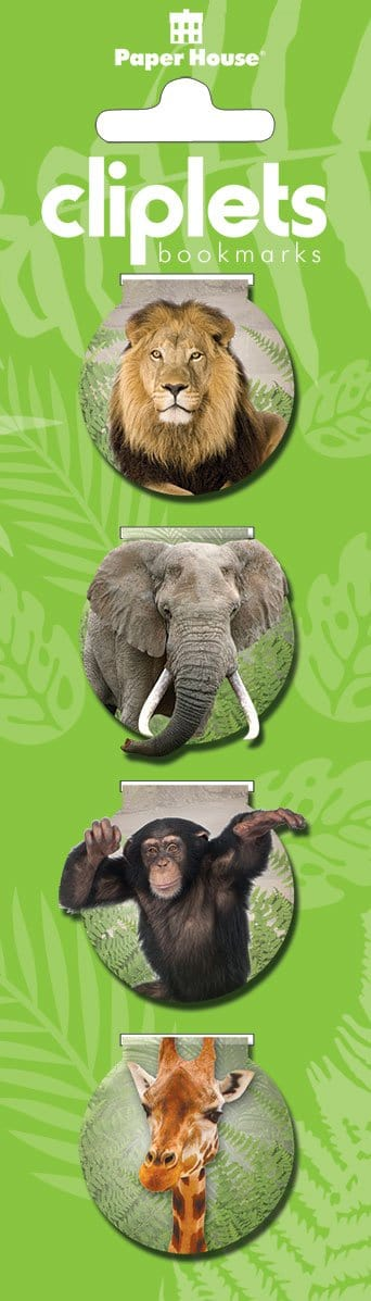 Zoo Magnetic Bookmarks