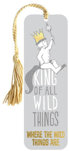 Where The Wild Things Are - king of all wild things bookmark