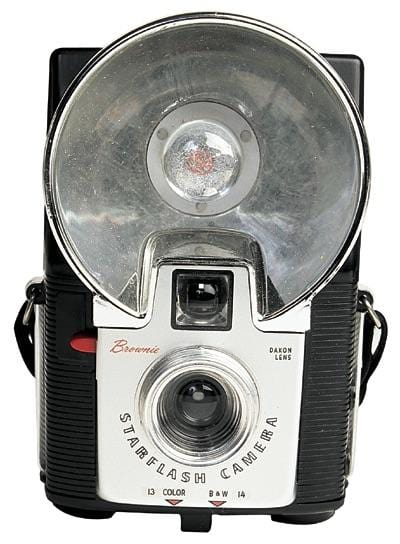 Brownie Camera Diecut Card