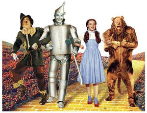 Wizard of Oz-Yellow Brick Road Diecut Card