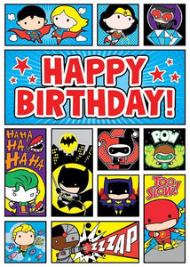 DC Comics™ Chibi Super Heros Foil Card