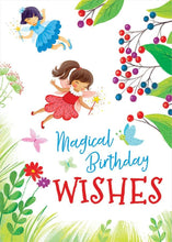 Load image into Gallery viewer, Magical Fairies Glitter Card