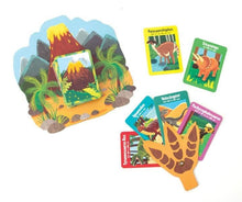 Load image into Gallery viewer, dinosaurs go fish card game set