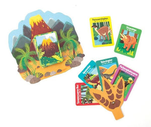 dinosaurs go fish card game set