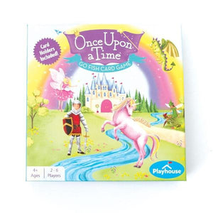 once upon a time go fish card game set