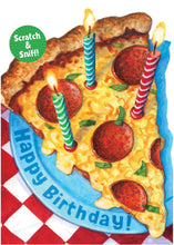 Load image into Gallery viewer, Pizza Scratch & Sniff Card