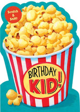 Load image into Gallery viewer, Popcorn Scratch & Sniff Card