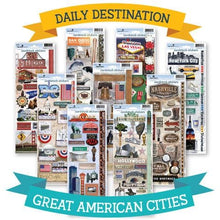 Load image into Gallery viewer, Great American Cities Sticker Bundle