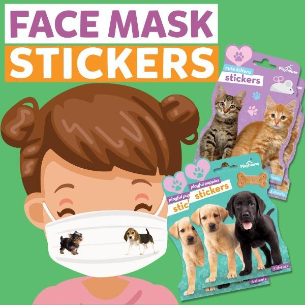 Face Mask Stickers- Pets