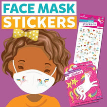 Load image into Gallery viewer, Face Mask Stickers- Unicorns