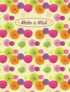 Make a Wish Floral Glitter Gift Enclosure