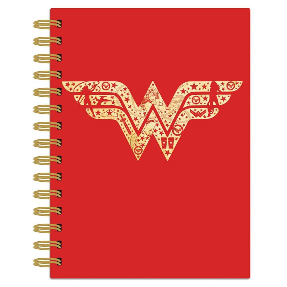 Wonder Woman™ Red Logo Spiral Journal