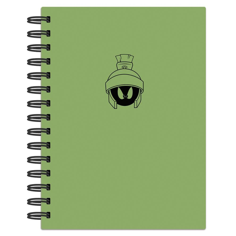 Looney Tunes Marvin the Martian Spiral Journal
