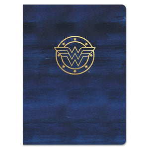 Wonder Woman Navy Logo Journal