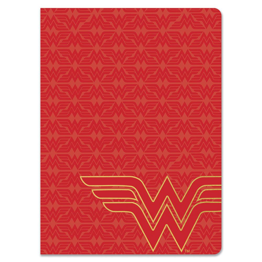 Wonder Woman™ Red Line Logo Journal