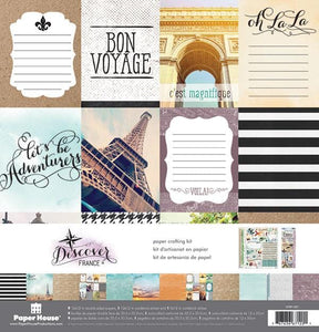 Discover: France Paper Crafting Kit