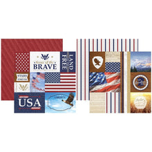 Load image into Gallery viewer, Let Freedom Ring- Boston Paper Crafting Kit
