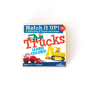Trucks- Learn Colors- Match Up Game