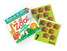 Load image into Gallery viewer, Zoo Animals- Learn Numbers- Match Up Game
