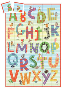 alphabet match up game