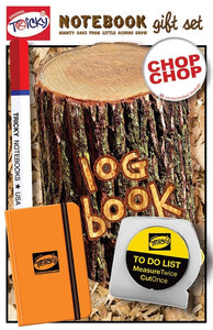Log Book Tricky Notebook