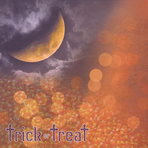 Trick or Treat Single-Sided Paper