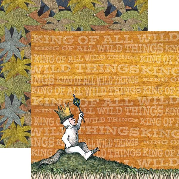Where the Wild Things Are™ Max Double Sided Paper