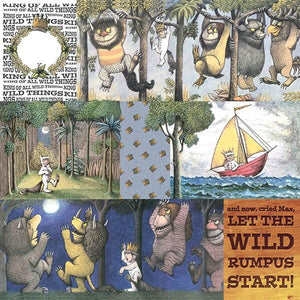Where the Wild Things Are™ Tags Double Sided Paper